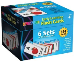 Spectrum Early Learning Flash Cards (Cards)