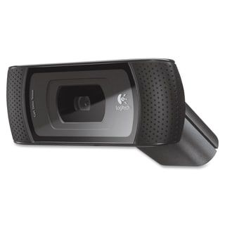Logitech B910 Webcam - 5 Megapixel - 30 fps - Black - USB 2.0 - 1 Pac