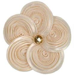 Cuff Luv Ivory Swirl Magnetic Magic Pin