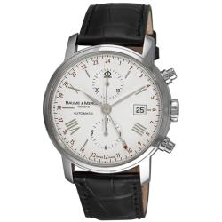 Baume & Mercier Men's 'Classima Executives XL' GMT Chronograph Watch