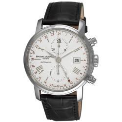 Baume & Mercier Men's MOA8851 'Classima Executives XL' GMT Chronograph Watch
