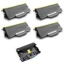 Brother 4 x TN360, 1 x DR-360 Compatible Black Toner Cartridge