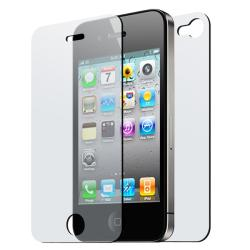 LCD Anti-glare 2-piece Screen Cover for Apple iPhone 4