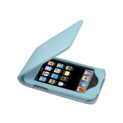 INSTEN Leather iPod Case Cover with Kickstand for Apple iPod Touch