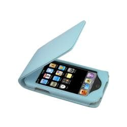Leather Case with Kickstand for Apple iPod Touch