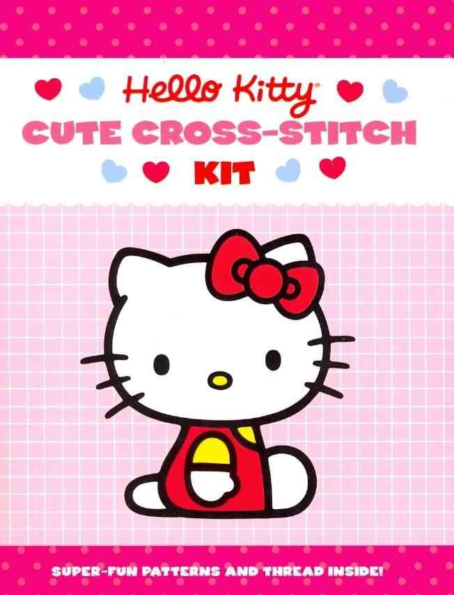 Hello Kitty Cute Cross-Stitch Kit (Paperback)