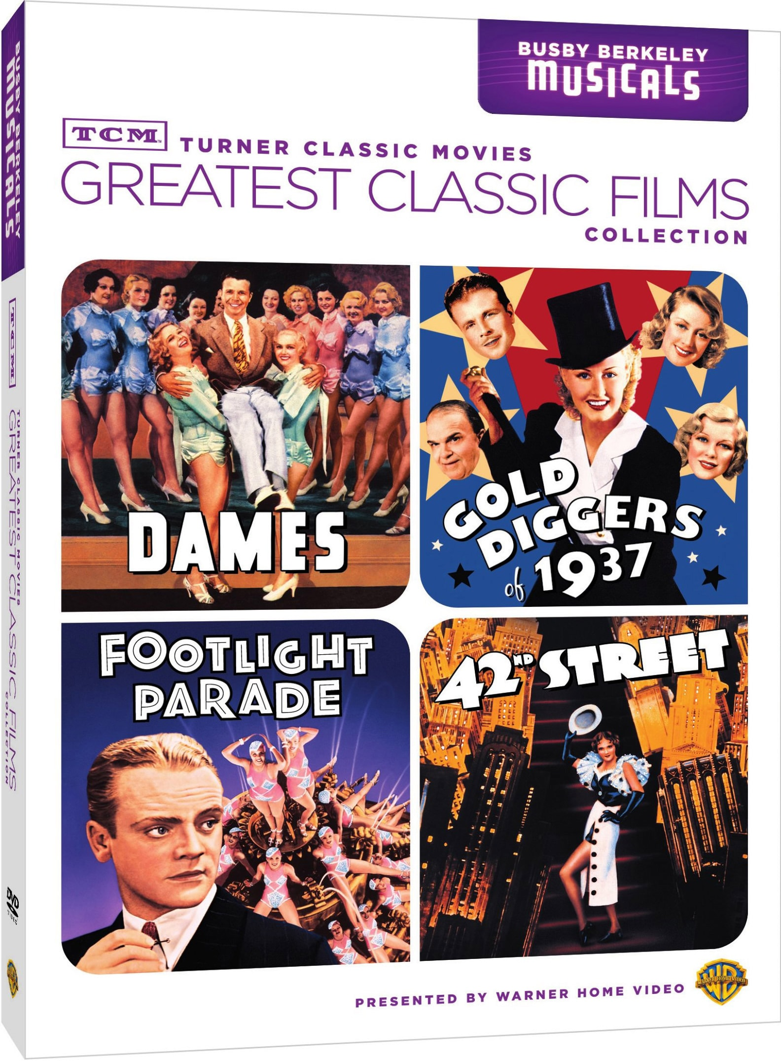 TCM Greatest Classic Films: Busby Berkeley Musicals (DVD)