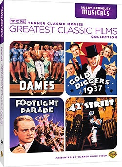 TCM Greatest Classic Films: Busby Berkeley Musicals (DVD)