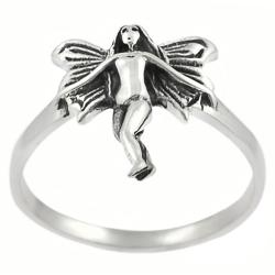 Tressa Sterling Silver Fairy Ring