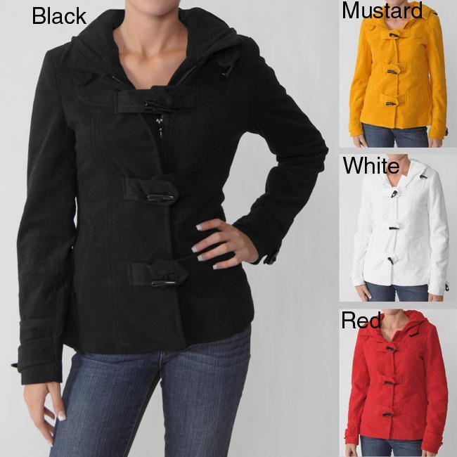 Ci Sono by Adi Juniors Toggle Button Hooded Coat
