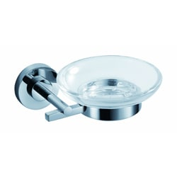 Fresca Alzato Chrome Soap Dish