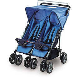 Foundations Duo-SS Double Side by Side Folding Stroller