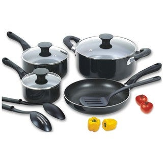 Aluminum 10-piece Nonstick Cookware Set