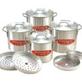 Aluminium 12-piece Tamale Steamer Set