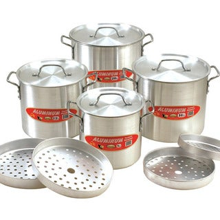 Cook N Home Aluminium 12-piece Tamale Steamer Set