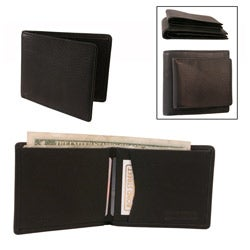 Black Mini Leather Wallet