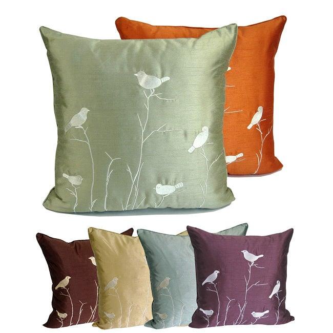 Nightingale 20-inch Throw Pillow
