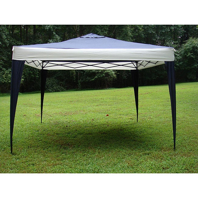 Frame Tent Canopy : Portable canopy tent party steel frame poles durable easy