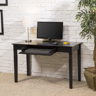 Black Wood Computer Desk