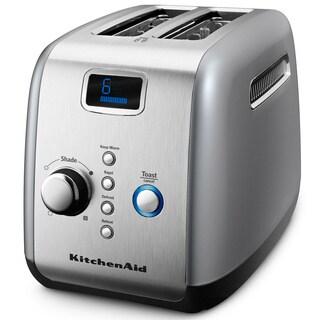 KitchenAid KMT223CU Contour Silver 2-slice Toaster