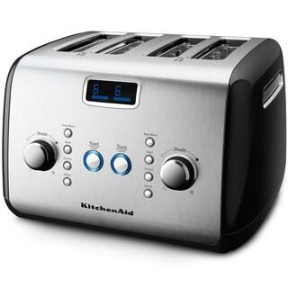 KitchenAid KMT423OB Onyx Black 4-slice Toaster