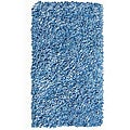 Soft Cotton Blue Shag Rug (3'6 x 5'6)