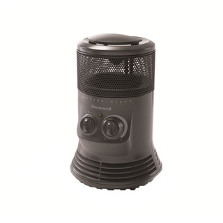 Honeywell Mini Tower Grey 360-degree Swivel Heater