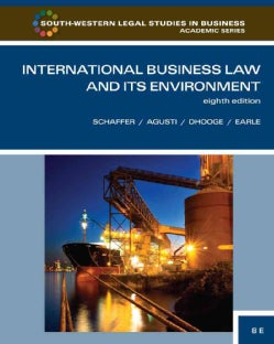International Business Law and Its Environment (Hardcover)