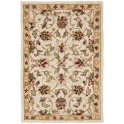 Safavieh Hand-hooked Chelsea Tabriz Ivory Wool Rug (1'8 x 2'7)