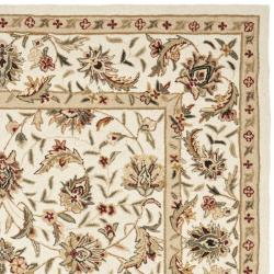 Safavieh Hand-hooked Chelsea Tabriz Ivory Wool Rug (8'9 x 11'9)