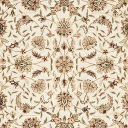 Hand-hooked Chelsea Tabriz Ivory Wool Rug (8'9 x 11'9)