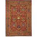 Hand-tufted Morris Rust Oriental Wool Rug (8'9 x 11'9)