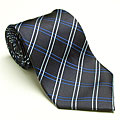 Platinum Ties Men's 'Blue Vein' Tie