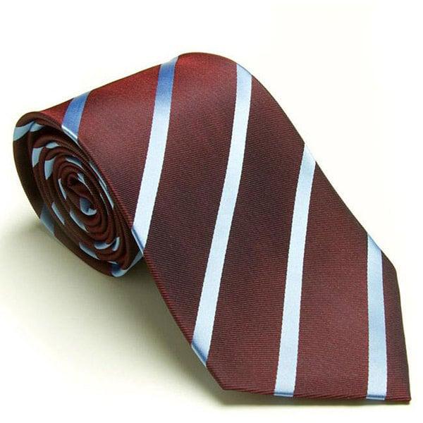 Platinum Ties Men's 'Burgundy Avenue' Tie