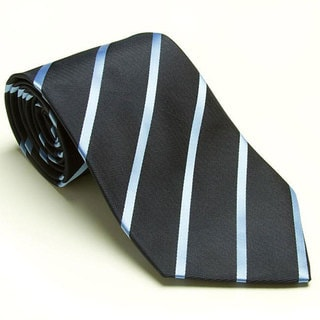 Platinum Ties Men's 'Blue Avenue' Tie