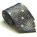 Platinum Ties Men's 'Blue Casual' Tie