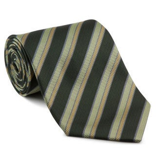 Platinum Ties Men's 'Green Safari' Tie