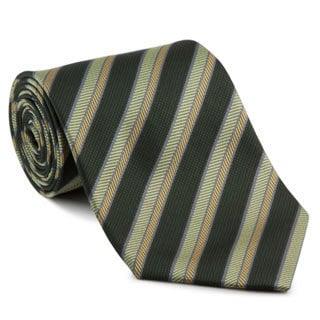 Platinum Ties Men's 'Green Safari' Tie
