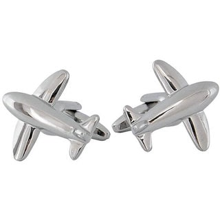 Cuff Daddy Silver Airliner Cufflinks