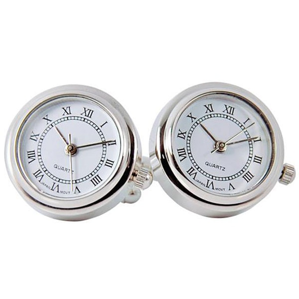 Cuff Daddy Rhodium Father's Day Watch Cuff Links