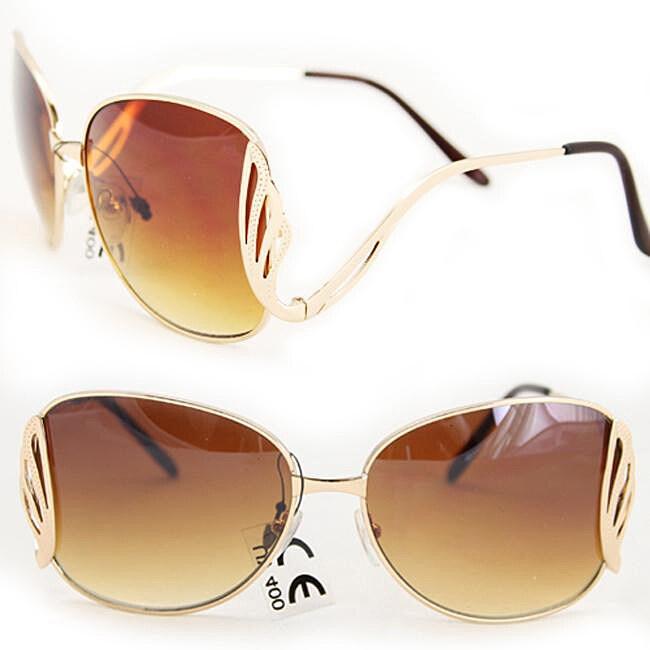Women's M9231 Gold Fashion Sunglasses
