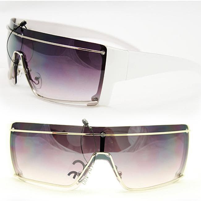 Women's F1353 White Fashion Sunglasses