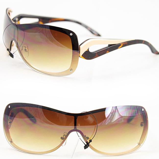 Women's M9203 Two-tone Rimless Sunglasses