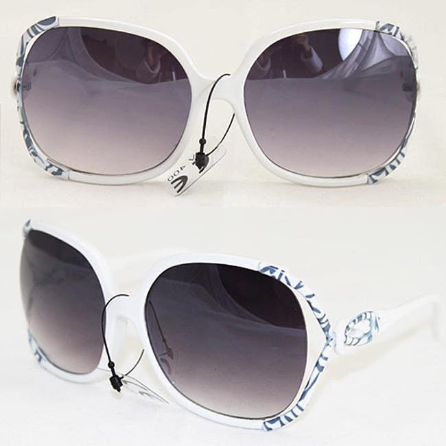 Women's P1863 White Fashion Sunglasses