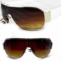 Women's LA7879 White Wrap Sunglasses