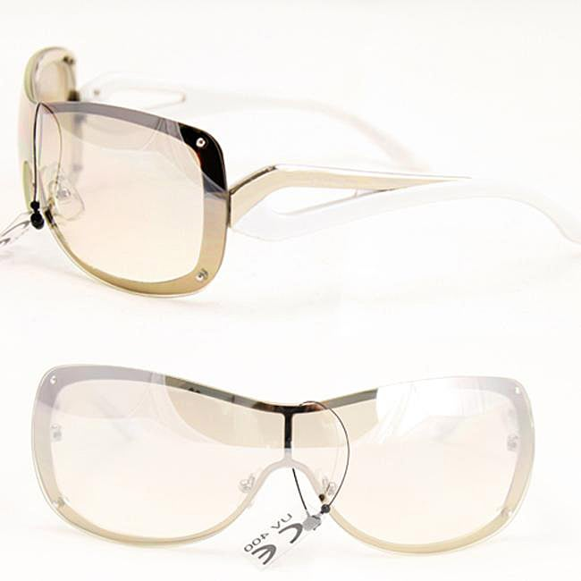 Women's Two-tone Rimless Fashion Sunglasses