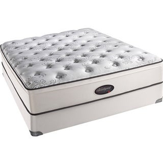 Beautyrest Classic Reece Plush Euro-top California King-size Mattress Set