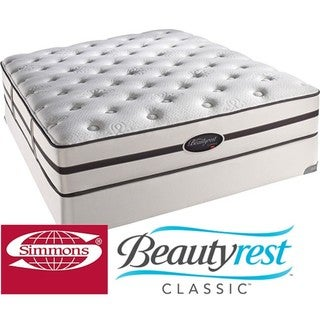 Beautyrest Classic Porter Plush King-size Mattress Set