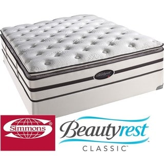 Beautyrest Classic Porter Plush Pillow-top Queen-size Mattress Set