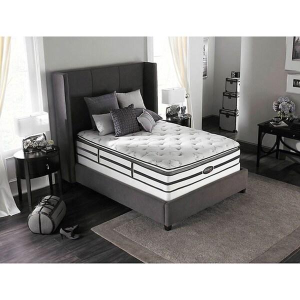 Beautyrest Classic Meyers Plush Pillow-top Full-size Mattress Set